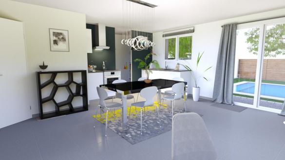 Maison+Terrain à vendre .(70 m²)(VENERQUE) avec (LCO CONCEPT)