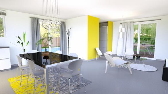 Maison+Terrain à vendre .(80 m²)(CADOURS) avec (LCO CONCEPT)