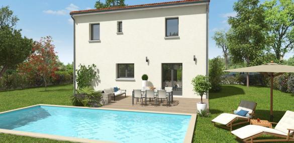 Maison+Terrain à vendre .(100 m²)(AUSSONNE) avec (LCO CONCEPT)