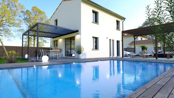 Maison+Terrain à vendre .(89 m²)(VILLENEUVE LES BOULOC) avec (LCO CONCEPT)