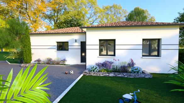 Maison+Terrain à vendre .(96 m²)(LABASTIDE BEAUVOIR) avec (LCO CONCEPT)