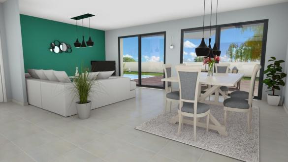 Maison+Terrain à vendre .(121 m²)(VILLEFRANCHE DE LAURAGAIS) avec (LCO CONCEPT)