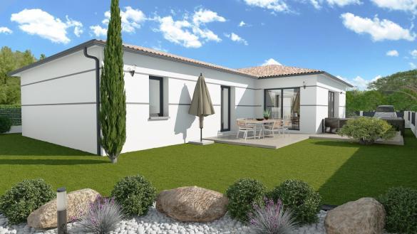 Maison+Terrain à vendre .(114 m²)(LAUNAC) avec (LCO CONCEPT)
