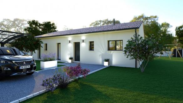 Maison+Terrain à vendre .(121 m²)(LABASTIDE BEAUVOIR) avec (LCO CONCEPT)