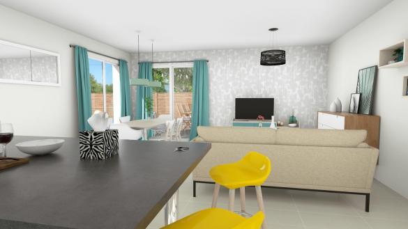 Maison+Terrain à vendre .(90 m²)(BERAT) avec (LCO CONCEPT)