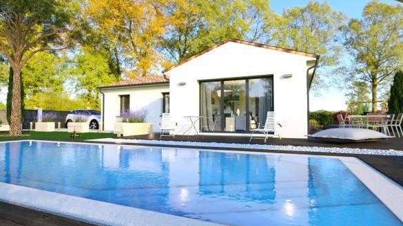 Maison+Terrain à vendre .(80 m²)(MONTBARTIER) avec (LCO CONCEPT)