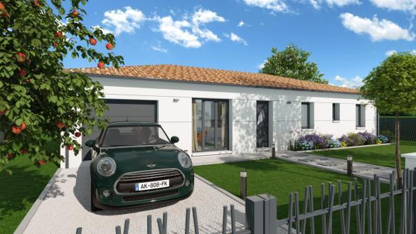 Maison+Terrain à vendre .(90 m²)(VERDUN SUR GARONNE) avec (LCO CONCEPT)