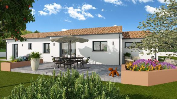 Maison+Terrain à vendre .(100 m²)(COUFOULEUX) avec (LCO CONCEPT)