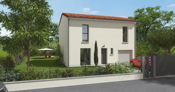 Maison+Terrain à vendre .(100 m²)(LANTA) avec (LCO CONCEPT)