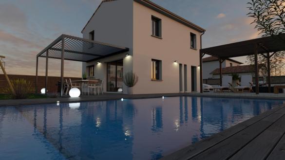 Maison+Terrain à vendre .(79 m²)(BESSIERES) avec (LCO CONCEPT)