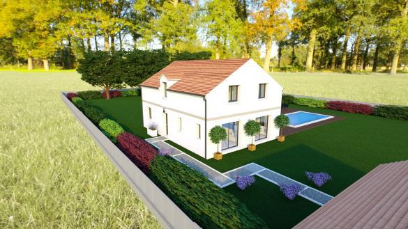 Maison+Terrain à vendre .(250 m²)(L'ETANG LA VILLE) avec (LES NOUVELLES MAISONS - SMA DOMEXPO)