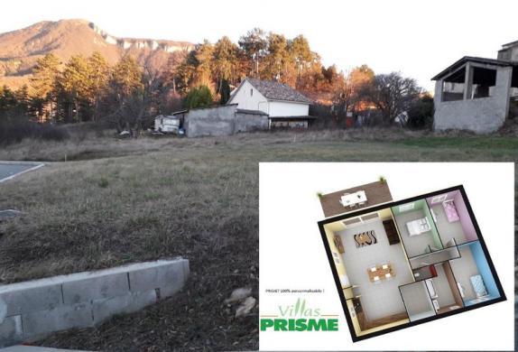 Maison à vendre .(93 m²)(DIGNE LES BAINS) avec (VILLAS PRISME)