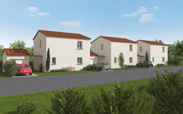 Maison à vendre .(85 m²)(MALLEMORT) avec (VILLAS PRISME)