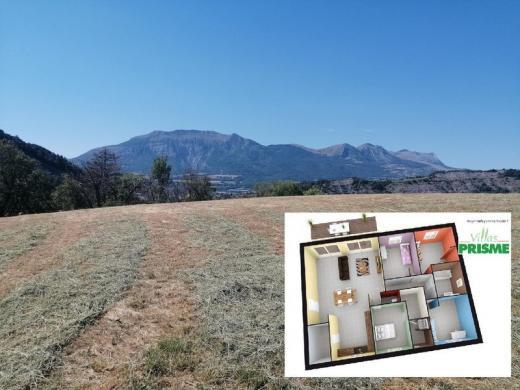 Maison à vendre .(120 m²)(GAP) avec (VILLAS PRISME)