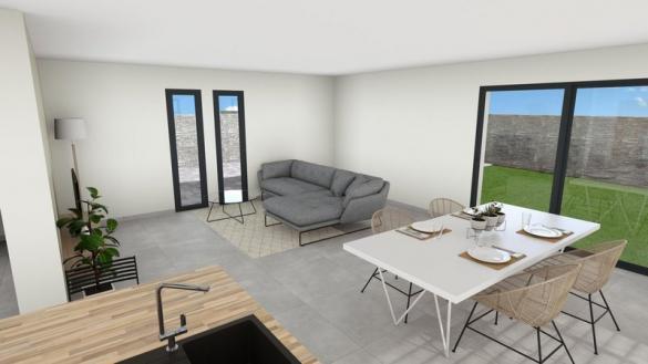 Maison à vendre .(125 m²)(PUYLOUBIER) avec (VILLAS PRISME)