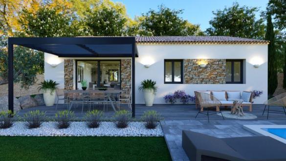 Maison à vendre .(80 m²)(BRIGNOLES) avec (VILLAS PRISME)