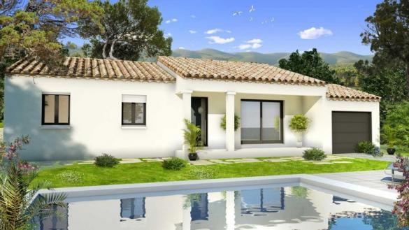 Maison à vendre .(80 m²)(VIDAUBAN) avec (VILLAS PRISME)