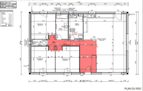 Terrain à vendre .(450 m²)(ROGNAC) avec (VILLAS PRISME)