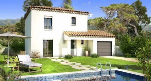 Maison à vendre .(86 m²)(AUBAGNE) avec (VILLAS PRISME)