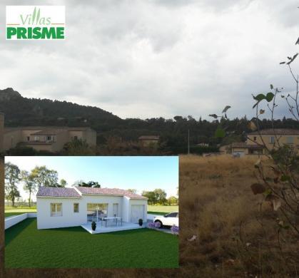 Maison à vendre .(88 m²)(CHATEAU ARNOUX SAINT AUBAN) avec (VILLAS PRISME)