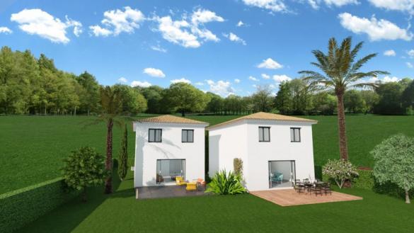 Terrain à vendre .(610 m²)(LA MOTTE) avec (VILLAS PRISME)
