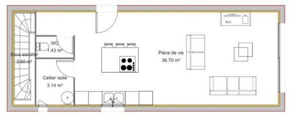 Maison à vendre .(85 m²)(PORT DE BOUC) avec (VILLAS PRISME)