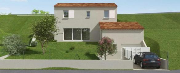 Maison à vendre .(100 m²)(SAINT CHAMAS) avec (VILLAS PRISME)