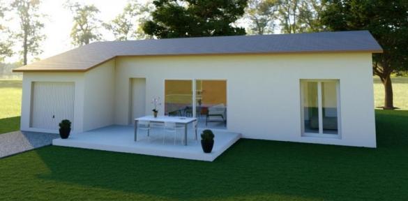 Maison à vendre .(80 m²)(LA BATIE NEUVE) avec (VILLAS PRISME)