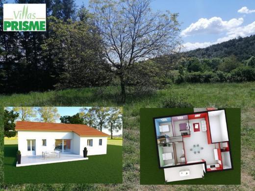 Maison à vendre .(99 m²)(JARJAYES) avec (VILLAS PRISME)