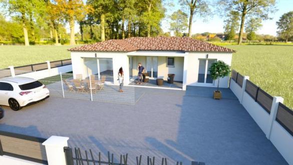 Maison à vendre .(90 m²)(MARTIGUES) avec (VILLAS PRISME)