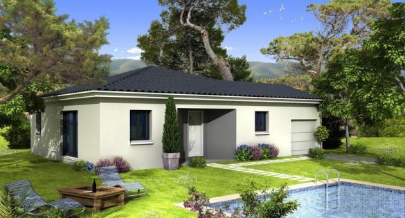 Maison à vendre .(100 m²)(GONFARON) avec (VILLAS PRISME)