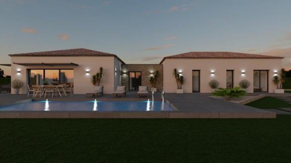 Maison à vendre .(140 m²)(POURRIERES) avec (VILLAS PRISME)