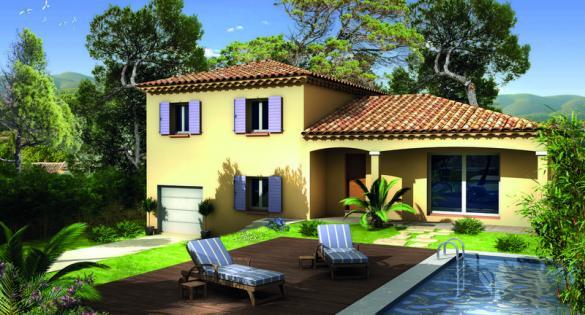 Maison à vendre .(90 m²)(NOYERS SUR JABRON) avec (VILLAS PRISME)