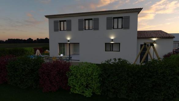 Maison à vendre .(95 m²)(BOUC BEL AIR) avec (VILLAS PRISME)