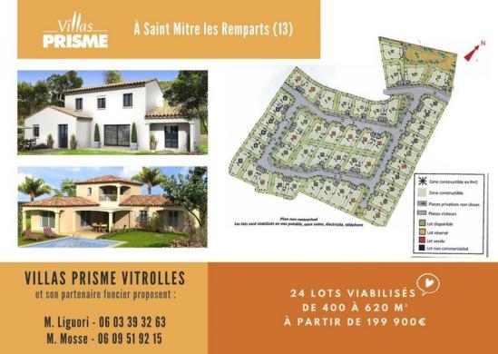 Maison à vendre .(90 m²)(SAINT MITRE LES REMPARTS) avec (VILLAS PRISME)