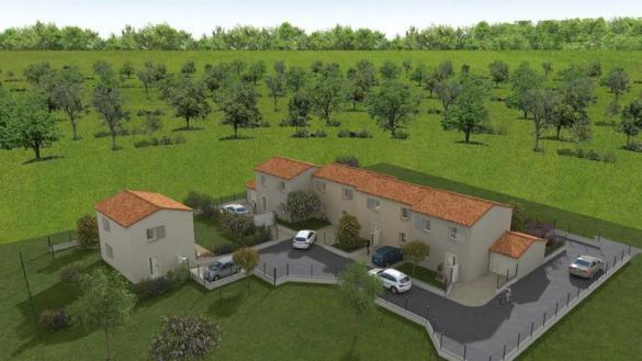 Maison à vendre .(90 m²)(AUBAGNE) avec (VILLAS PRISME)