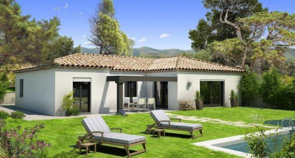 Maison à vendre .(100 m²)(PELISSANNE) avec (VILLAS PRISME)