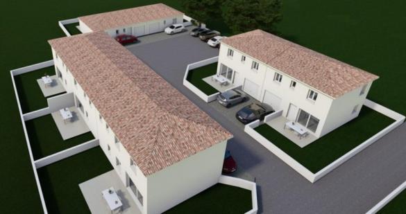 Maison à vendre .(76 m²)(PEYRUIS) avec (VILLAS PRISME)