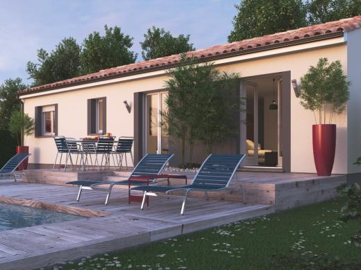 Maison+Terrain à vendre .(78 m²)(SAINT FROULT) avec (MAISONS M.C.A.)