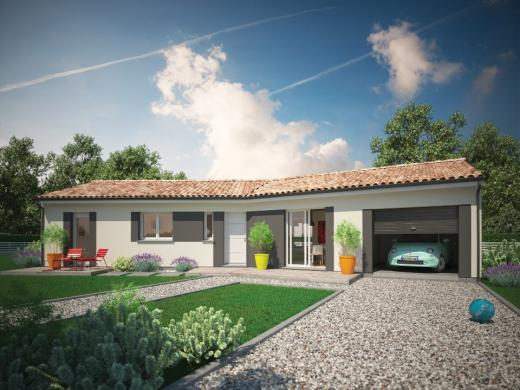 Maison+Terrain à vendre .(69 m²)(SAINT AGNANT) avec (MAISONS M.C.A.)