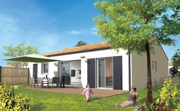 Maison+Terrain à vendre .(80 m²)(SAUJON) avec (Maisons ACCO Agence de ROYAN)