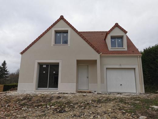Maison+Terrain à vendre .(126 m²)(FAVIERES) avec (MAISONS SESAME)