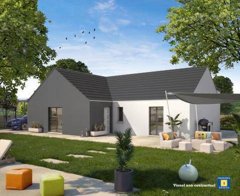 Maison+Terrain à vendre .(105 m²)(CRECY LA CHAPELLE) avec (MAISONS SESAME)