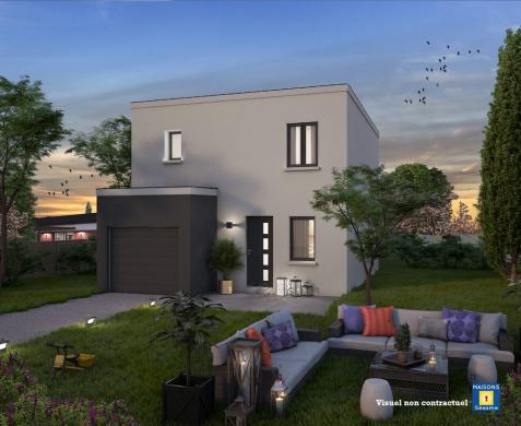 Maison+Terrain à vendre .(90 m²)(MEAUX) avec (MAISONS SESAME)