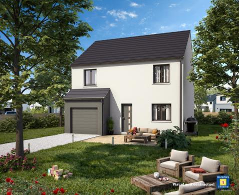Maison+Terrain à vendre .(90 m²)(BRUNOY) avec (MAISONS SESAME)