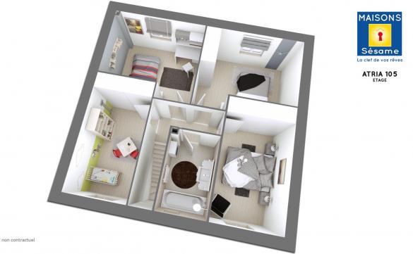 Maison+Terrain à vendre .(97 m²)(LA QUEUE EN BRIE) avec (MAISONS SESAME)