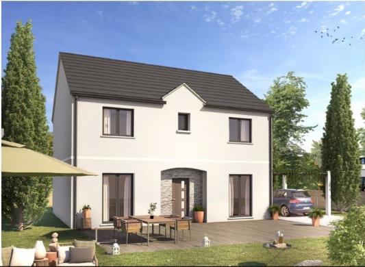 Maison+Terrain à vendre .(105 m²)(CELY) avec (MAISONS SESAME)
