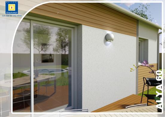 Maison+Terrain à vendre .(80 m²)(BRIE COMTE ROBERT) avec (MAISONS SESAME)