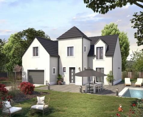 Maison+Terrain à vendre .(90 m²)(LIVERDY EN BRIE) avec (MAISONS SESAME)