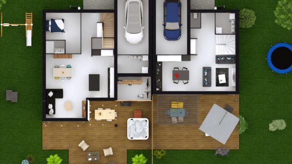 Maison à vendre .(95 m²)(CLUSES) avec (MAISONS LOGELIS - AGENCE D ANNECY)